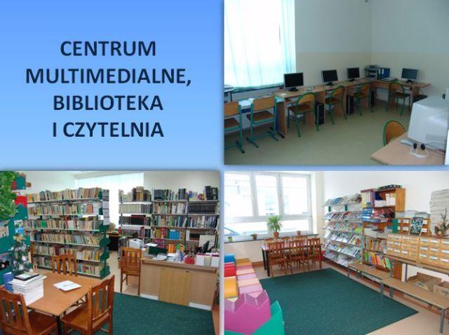 Centrum Multimedialne, Biblioteka, Czytelnia