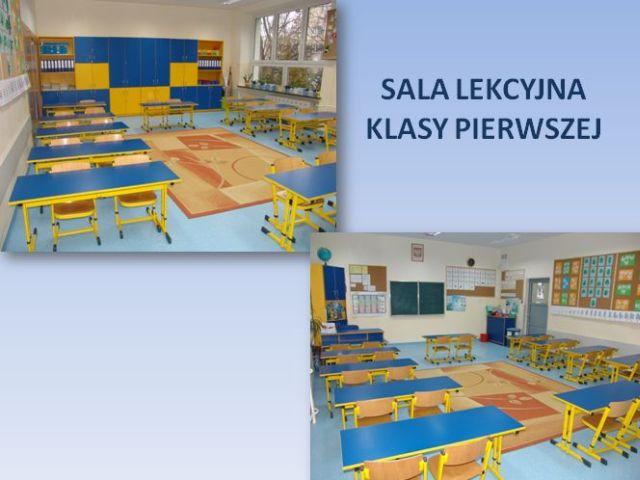 Sala leksyna klasy I