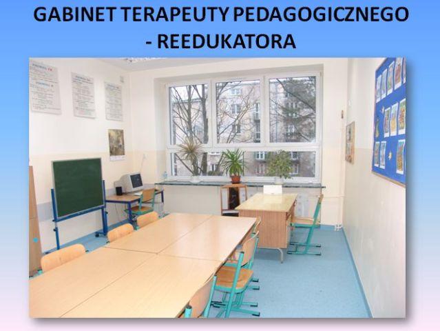 Gabinet Terapeuty Pedagogicznego - Reedukatora