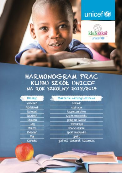 Harmonogram Unicef