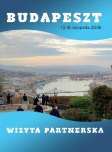 Okładka Gazetki Budapeszt Wizyta Partnerska